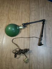 Vintage Industrial 3 Position Adjustable Mountable Machine Lamp