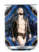 WWE Finn Balor #31 2019 Topps Undisputed Blue Parallel Card SN 4 of 25