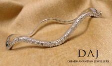 0.80 Ct Natural Round Brilliant Cut Diamond FG Bracelet