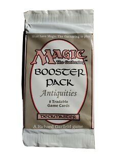 Magic The Gathering: Unopened Antiquities Booster Pack