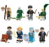 Harry Potter Voldemort Draco Malfoy Dumbledore Action Figure Building Blocks Toy
