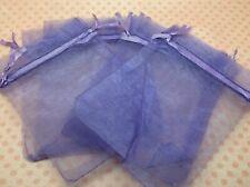 10 x Organza Bags Lilac Purple 10cmx12cm for wedding birthday goody favour bags