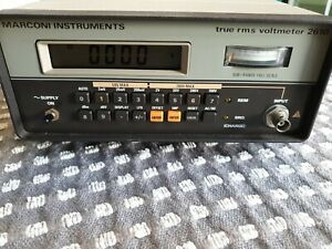 Marconi 2610 True RMS Voltmeter (JB-BS01)