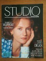 STUDIO N°42 1990 Isabelle Huppert James Dean Alain Delon William Hurt Wim Wender