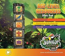 Age-Level Resources Disc Set (Vacation Bible School (VBS) 2014: Jungle Safari—W