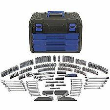 Kobalt Standard/Metric Mechanics Tool Set With Case