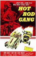 HOT ROD GANG Movie POSTER 11x17 John Ashley Jody Fair Steve Drexel Scott Peters