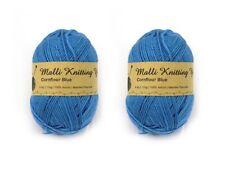 Malli 8ply Acrylic Knitting & Crochet Yarn 100g - Cornflower Blue