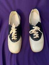Vintage Saddle Shoes black and white women's size 7 1/2 Pre-Owned GallenKamp