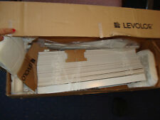 "Levolor 2"" Wide Nuwood Blind 23"" X 70 1/2"" ~Off White New"