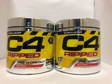 Cellucor C4 Ripped Pre-Workout 60 Servings FRUIT PUNCH FREE SHIP