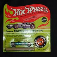 1969 Hot Wheels Lotus Turbine Spectraflame Aqua  Blister Pack HK Redline HW1224