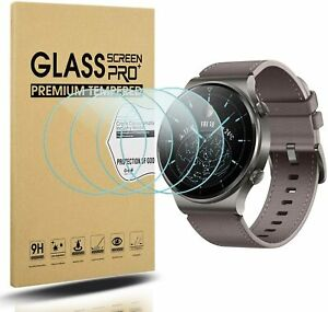 (5 Pack) For Huawei Watch GT 2 Pro Tempered Glass Screen Protector