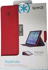 Suporte Capa Speck stylefolio Apple Ipad Air & Ipad 5 Escuro Poppy Vermelho/Cinza ardósia