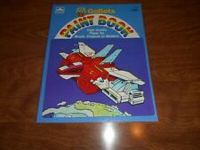 Gobots Paint Book, Unused, New Old Stock From 1985  Lot Of  (2)