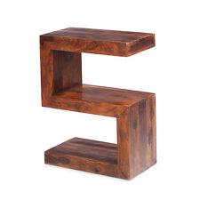 Cuba Sheesham Side Table Living Room Solid Wood Indian Furniture