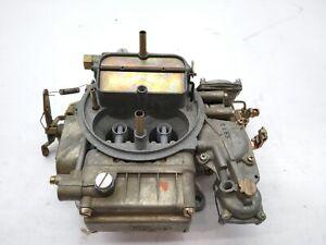 Nos Genuine HOLLEY 4 barrel carburetor 99210 , 9921D , 679345  ,LIST-4773-2