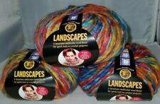 3 Skeins/Balls Of (Discontinued) Lion Brand Landscapes Yarn - #276 Summer Fields