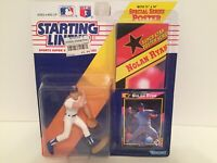 1992 Nolan Ryan starting lineup Baseball figure card toy poster Texas Rangers CY
