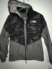 Womens North face  Petite Winter Jacket 3 Zippers Parka