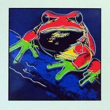 Andy Warhol - Pine Barrens Tree Frog  - Edi. limitada. 1000 ejemplares