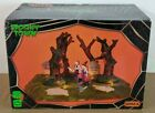 Rare 2012  Lemax Spooky Town Table Accent  Are Those Trees Moving