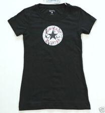 Camisetas de mujer de manga corta color principal negro talla XS