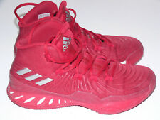 New listing Adidas Basketball Shoes Red White Size 6