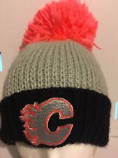 Calgary Flames, Hat, NHL Fan Gear, Adult, Reebok Face Off Collection