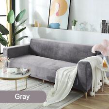 Washable Stretch Elastic Velvet Sofa Cover FurnitureProtector Case Pet Slipcover