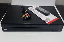New listing Jvc Hr-Xvc14 Dvd/ Vhs Vcr Combination Player with free universal remote -Tested