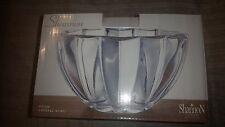 "Gorgeous New Godinger Shannon Crystal 7"" Diameter Prism Crystal Serving Bowl NIB"