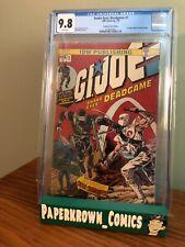 Snake Eyes Deadgame #1 CGC 9.8 Stadium Comics Edition Hulk 181 Homage GI Joe