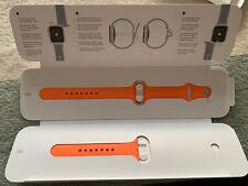 Genuine Apple Watch Sport Band Strap 40mm - Vitamin C (orange)