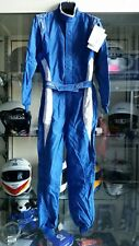 TUTA SPARCO AUTO OMOLOGATA FIA LEGGERA !!! RACING RALLY SUIT EVO 4 FIA TG 50 blu