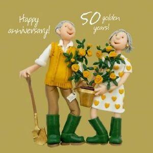 Holy Mackerel Wedding Anniversary Card
