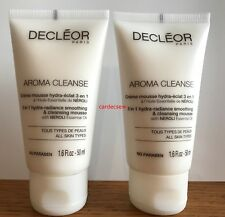 Decleor Aroma Cleanse 3-in-1 Hydra-Radiance Cleansing Mousse 2 x 50ml = 100ml