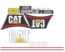 Caterpillar 430D Backhoe Decal / Adhesive / Sticker Complete Set