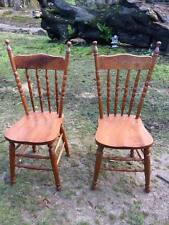 timber carved colonial high back occasional,wedding prop,desk Chairs pair