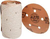 """new NORTON 5"""" A275 Self Stick Auto Coolant P100 Grit Sanding Discs, 100 roll"""