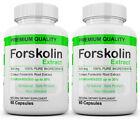 2 PACK FORSKOLIN Weight Loss 100 PURE Coleus Forskohlii 800mg Standardized 20
