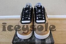 Nike Air Force 1 SP Tisci Sz 10.5 Vachetta Tan Black NIB QS Limited R. T. Low