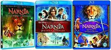 Chronicles of Narnia Trilogy Blu Ray Collection Pack Part 1 - 3 Brand New Sealed