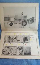 Claas Consul Lubrication Chart combined harvester tractor