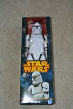 "Star Wars CLONETROOPER 12"" FIGURE New/Sealed 12"" Clone Trooper Figure"