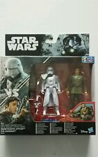STAR WARS FIGURINES SNOWTROOPER OFFICER & POE DAMERON SERIE ROGUE ONE NEUF