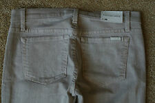 JOE'S STRAIGHT Ankle JEANS 28X28 NWT$189 Stretch! Sexy-Shaded Beige-USA