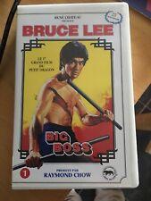 Bruce Lee Vhs Rene Chateau Big Boss