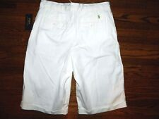 Boy's Ralph Lauren Cream Shorts Size 18-NWT