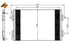 NRF Condensador, aire acondicionado RENAULT ESPACE AVANTIME 35634
